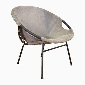 Mid-Century Armchair by E. Lusch for Lusch & Co., 1970s