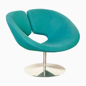 Green Blue Apollo Armchair by Patrick Norguet for Artifort, 2000s