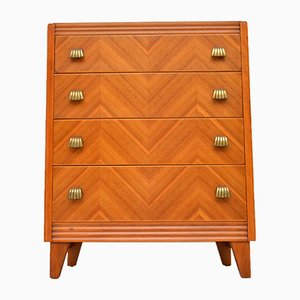 Walnut Chest of Drawers, 1950s
