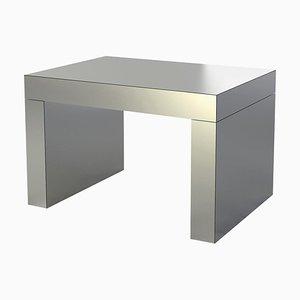 Mesa de centro o banco Gaby de aluminio de Chapel Petrassi