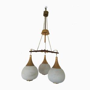 Mid-Century Deckenlampe von Bruno Chiarini