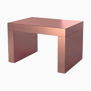 Tavolino da caffè Gaby in rose gold di Chapel Petrassi