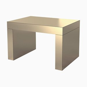 Banco o mesa de centro Gaby en color bronce de Chapel Petrassi