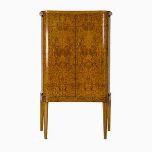 Swedish Birch Veneer Cabinet by A. Björk for Eksjö, 1950s