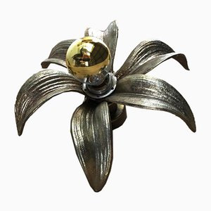 Vintage Hollywood Regency Sconce by Willy Daro for Massive