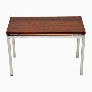 Rosewood & Chrome Coffee Table, 1960s