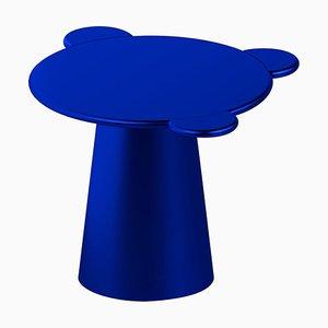 Blauer monochromer Donald Couchtisch von Chapel Petrassi