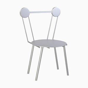 Haly Silver Chair by Chapel Petrassi