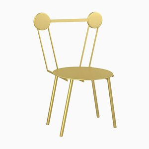 Haly Gold Chair by Chapel Petrassi