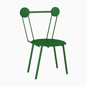 Haly Green Chair by Chapel Petrassi