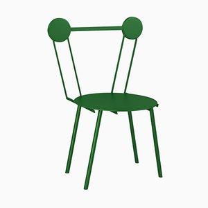 Sedia Haly verde di Chapel Petrassi
