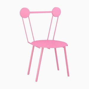 Pinker Haly Stuhl von Chapel Petrassi