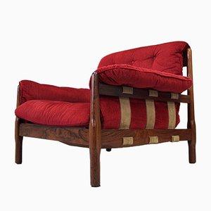 Brazilian Rosewood Armchair, 1960s
