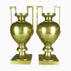 Antique Empire Vases, Set of 2