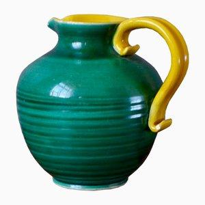 Keramikvase von Fernand Elchinger für Elchinger, 1950er