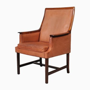 Rosewood Minerva Club Chair by Torbjørn Afdal for Bruksbo, 1960s