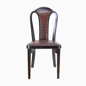 Sedia da pranzo nr. 918 di Gustav Siegel per Thonet, anni '20