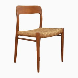 Mid-Century Model 75 Dining Chair by Niels Otto Møller for J.L. Møllers, 1960s