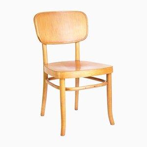Modell A283 Beistellstuhl aus Bugholz von Adolf Schneck für Thonet, 1920er