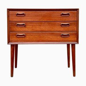 Small Danish Teak Dresser by Arne Vodder, 1960s