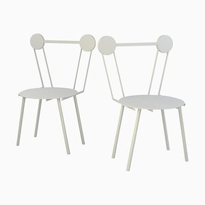 Haly White Chair by Chapel Petrassi