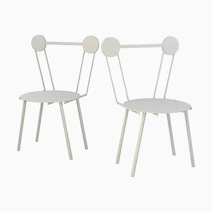 Weißer Haly Stuhl von Chapel Petrassi