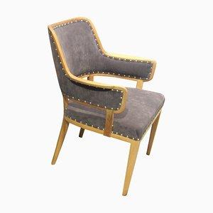 Mid-Century Swedish Armchair by Carl Malmsten