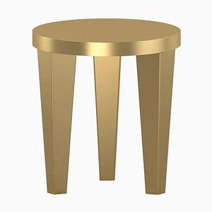 Gold BobStool di Chapel Petrassi
