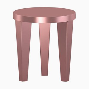 Rose Gold Bob Stool by Chapel Petrassi