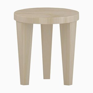 Wood Bob Stool by Chapel Petrassi
