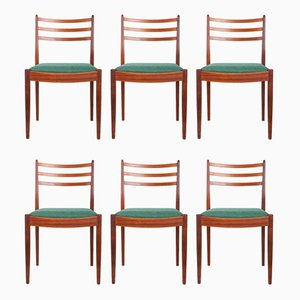 Teak Dining Chairs by Victor Wilkins for G-Plan, 1960s, Set of 6