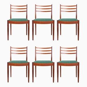 Teak Esszimmerstühle von Victor Wilkins für G-Plan, 1960er, 6er Set
