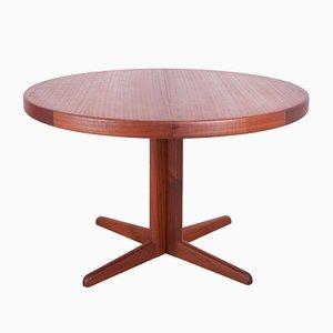 Tavolo da pranzo Mid-Century allungabile di H. W. Klein per Bramin, anni '60