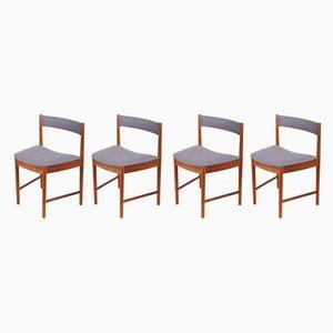 Modell 9533 Esszimmerstühle aus Teak von McIntosh, 1960er, 4er Set