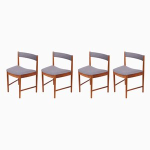 Teak Model 9533 Dining Chairs from McIntosh, 1960s, Set of 4