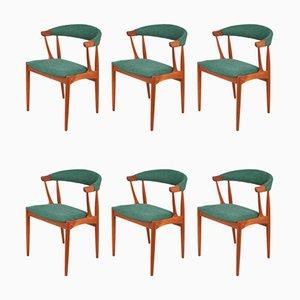 Esszimmerstühle von Johannes Andersen für Brødere Andersen, 1960er, 6er Set