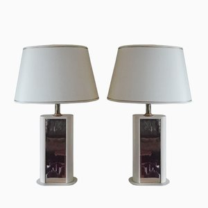 French Table Lamps by Dauphin, 1970s, Set of 2