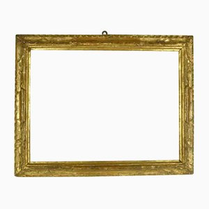 Antique Golden Carved Wood Frame, 1700s