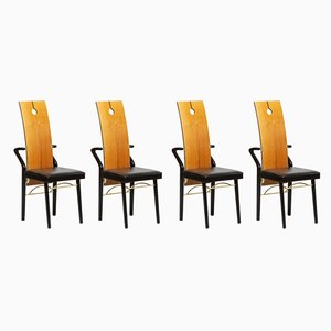 Dining Chairs by Pierre Cardin, 1980s, Set of 4