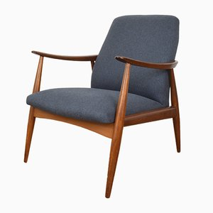 Mid-Century Danish Teak Lounge Chair, 1960s