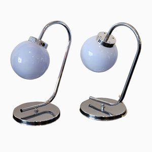 Space Age Table Lamps, 1969, Set of 2