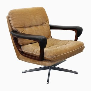Swivel Lounge Chair, 1950s