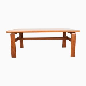 Mid-Century Danish Teak Coffee Table by C. Burchardt-Nielsen, 1980s