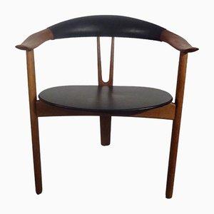 Modell 308 Armlehnstuhl von Arne Hovmand-Olsen für Mogens Kold, 1956