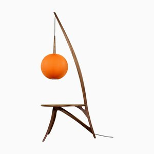 Floor Lamp with American Nut Stand from Savelkouls
