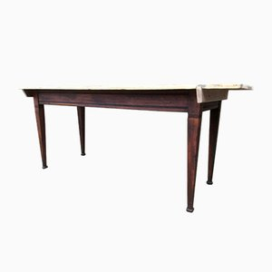 Grande Table de Bistrot Vintage, 1920s
