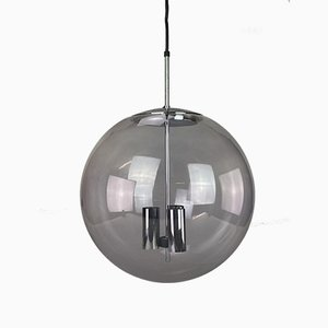 Mid-Century Globe Ceiling Lamp from Limburg
