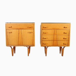 Nightstands from Novy Domov, 1972, Set of 2