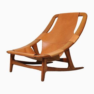 Model Holmenkollen Nordic Hunter Chair by Arne Tidemand Ruud for Norcraft, 1950s