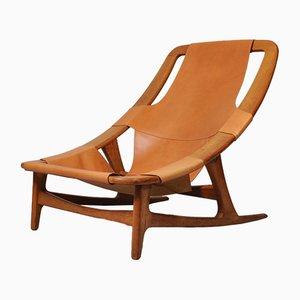 Modell Holmenkollen Nordic Hunter Stuhl von Arne Tidemand Ruud für Norcraft, 1950er